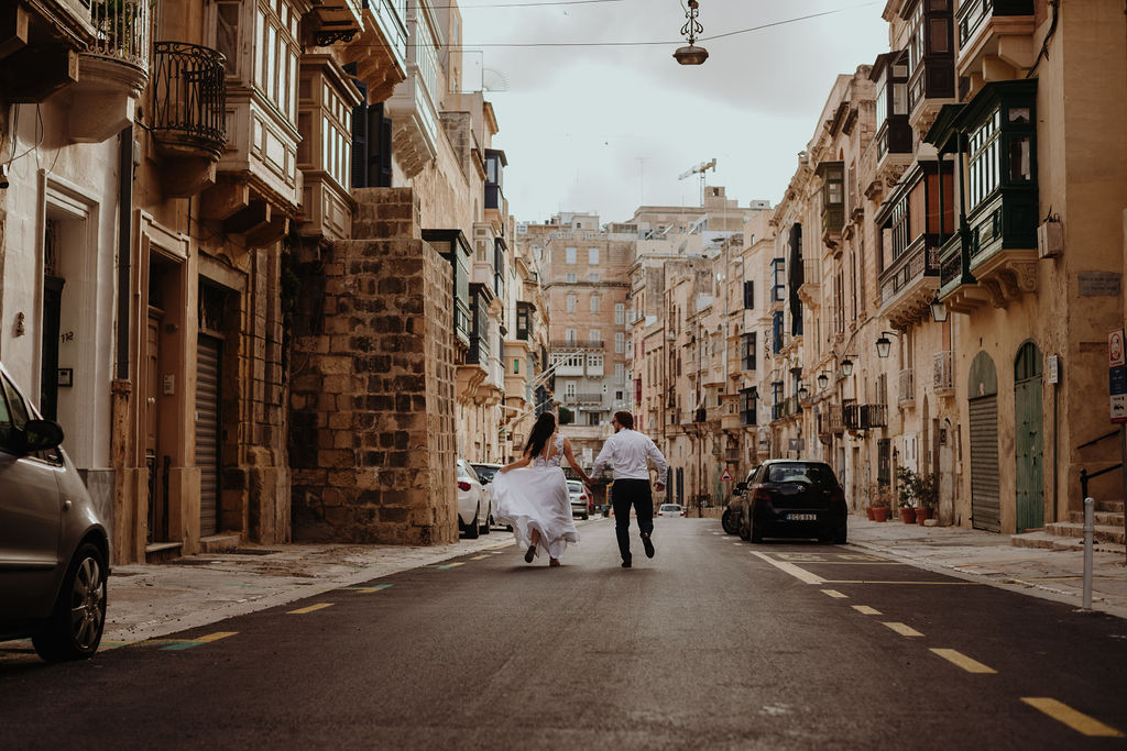 sesja ślubna na Malcie