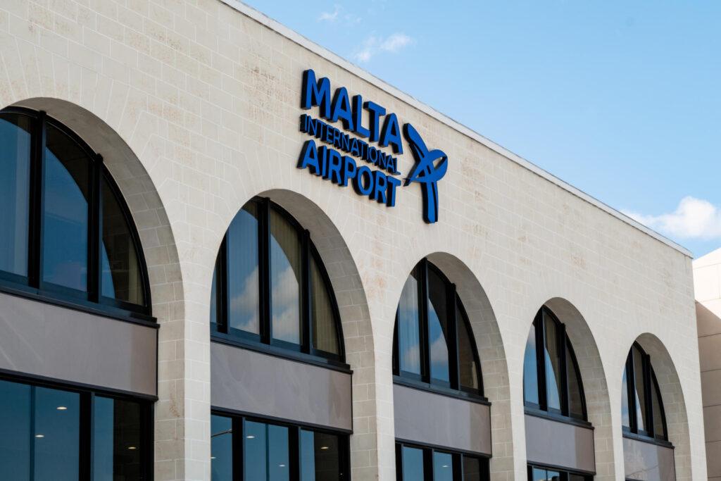 lotnisko na Malcie