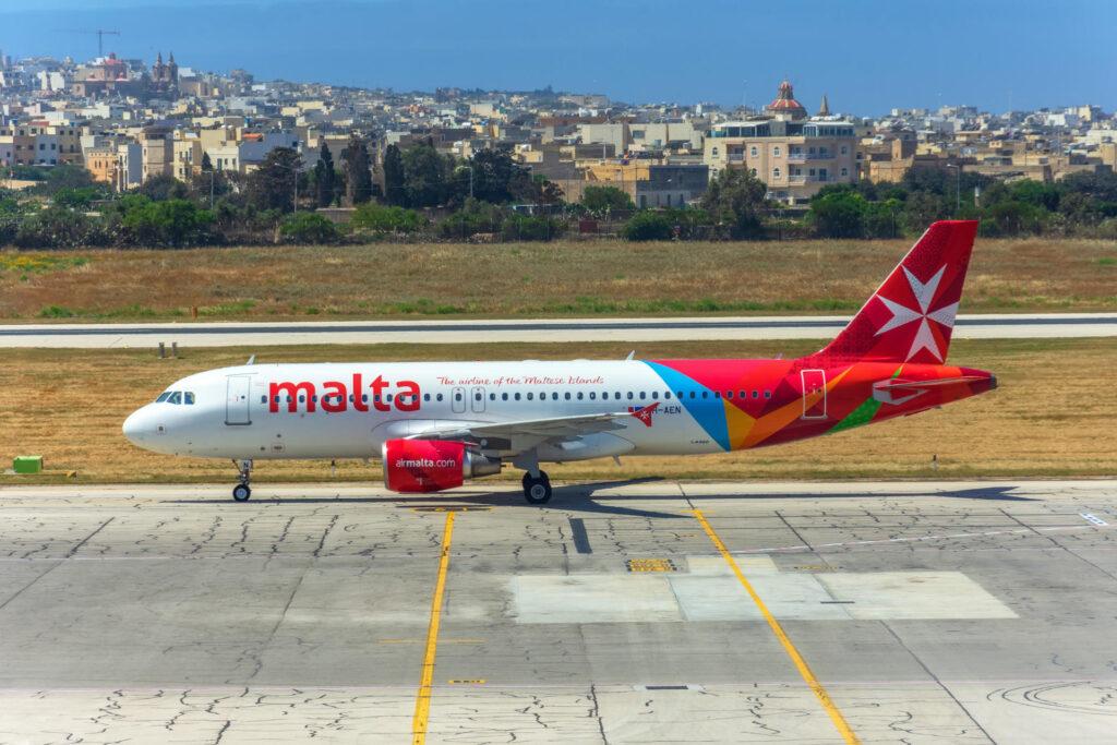 loty na Maltę