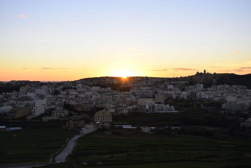 zima na Malcie