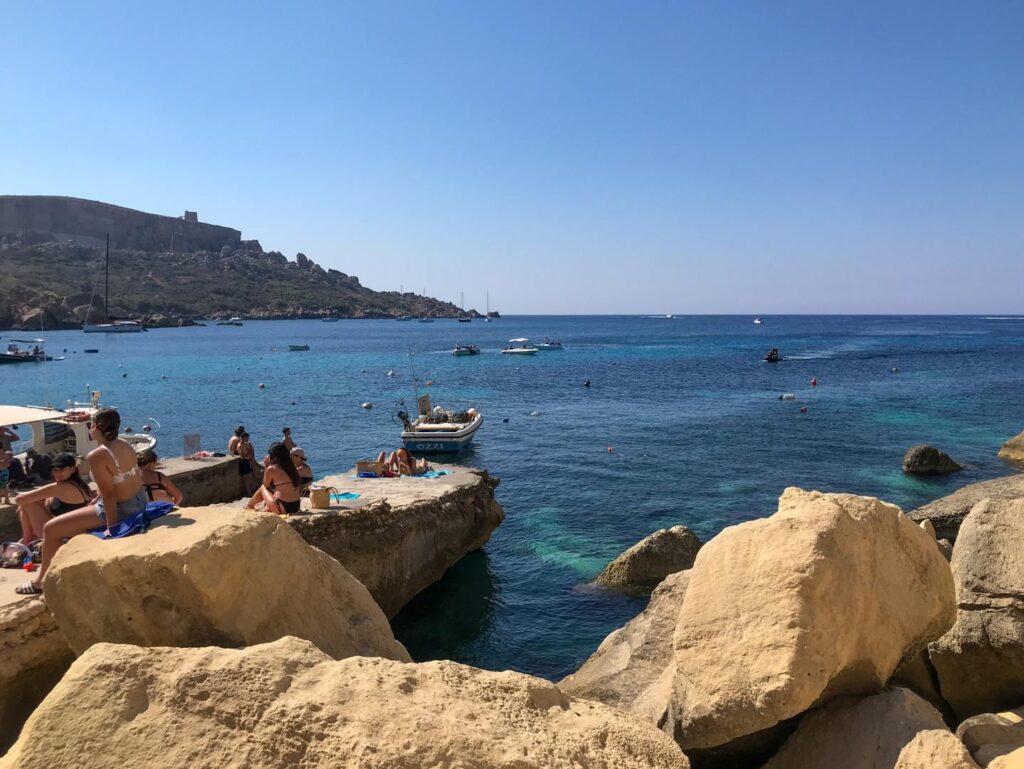 plaże na Gozo